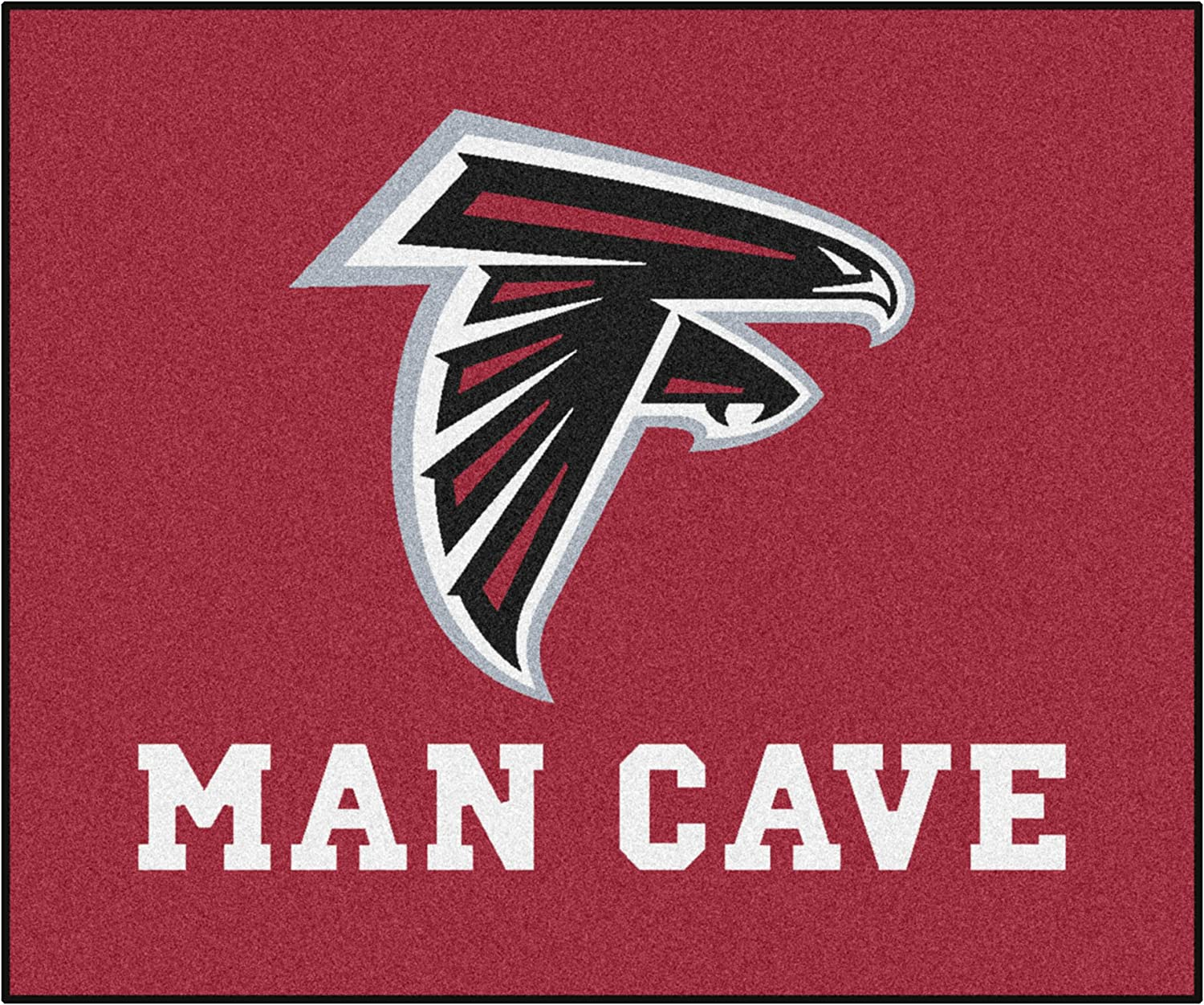 FANMATS NFL Nylon Universal Direct Al sold out. store Rug Man Tailgater Cave