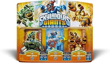 Activision Skylanders Giants Triple Pack #5 (Prism Break, Lightning Rod & Drill Sergeant)