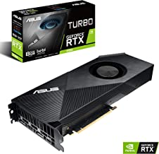 ASUS GeForce RTX 2080 8G Turbo Edition GDDR6 HDMI DP 1.4 USB Type-C Graphics Card (TURBO-RTX2080-8G) (Renewed)