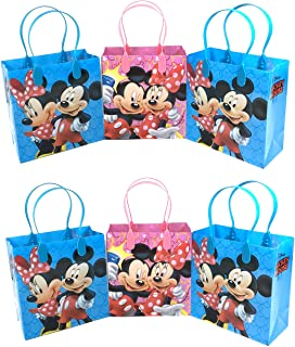 24PC DISNEY MICKEY MINNIE MOUSE GOODIE BAGS PARTY FAVOR BAGS GIFT BAGS