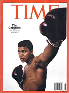 Time Magazine (June 20, 2016 - Cover: Muhammad Ali - Commemorative Issue)