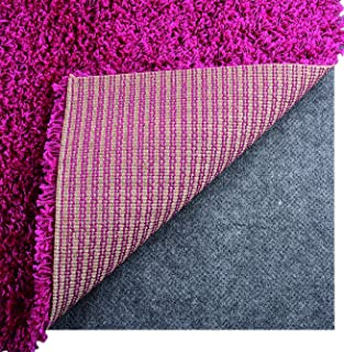 I FRMMY Newest Non Slip Area Gripper Rug Felt Pad, Ultra Strong Anti-Slip, Thin Profile 0.06in Thick, Keep Your Rugs in Place (2 x 4 ft)- Gray