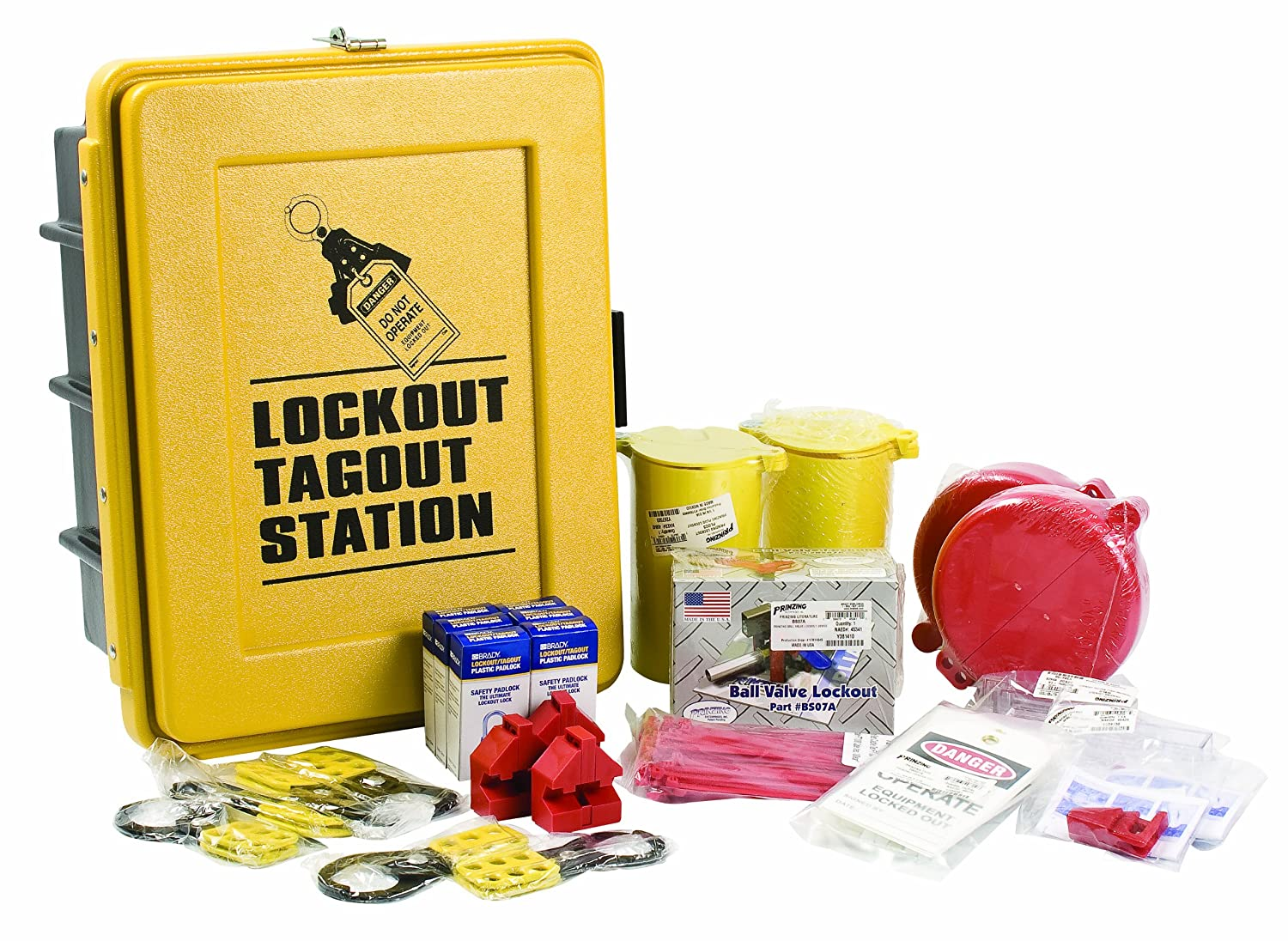 Brady LC585E Prinzing Lockout TagOut Max 62% OFF 1 Station Ranking TOP5 equip.