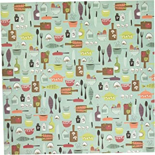 KAREN FOSTER Scrapbooking Paper Pack, 12-x-12, Cooking Fun