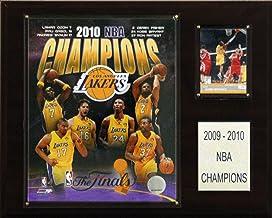 NBA Lakers 2009-10 NBA Champions Plaque