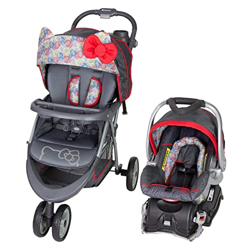 bc4ca4232 Baby Trend EZ Ride 5 Travel System, Hello Kitty Expressions