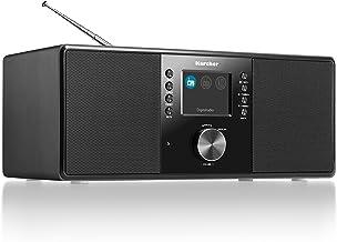 Karcher DAB 5000 Digitalradio (DAB+ / UKW-RDS, AUX-IN, Wecker mit Dual-Alarm)