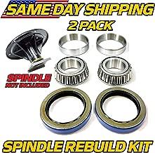 (1 Kit) Spindle Bearing & Seal Rebuild Toro Z Master 119-8599, 108-7713, 106-3217 - with Seals - HD Switch
