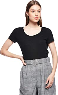 Only-15165660-Female-S/S Tops-Black-S