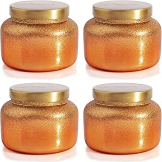 Capri Blue Pumpkin Dulce Glam Signature Jar 19 oz (4pk), Assorted, One Size