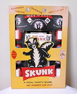 【スカンク パーティーゲーム SKUNK A REAL PARTY GAME】 ヴィンテージ・ゲーム SCHAPER <COPYRIGHT 1953年>