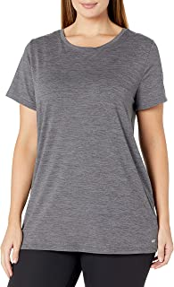 Amazon Essentials Women's 2-Pack Classic-Fit Short-Sleeve Crewneck T-Shirt Amazon Essentials Women's Studio Relaxed-Fit Lightweight Crewneck T-Shirt Amazon Essentials Women's 2-Pack Classic-Fit 100% Cotton Short-Sleeve Crewneck T-Shirt Amazon Essentials Women's 2-Pack Classic-Fit Short-Sleeve V-Neck T-Shirt Amazon Essentials Women's Plus Size Tech Stretch Short-Sleeve Crewneck T-Shirt