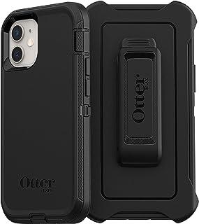 OtterBox Defender   robuste, sturzsichere und 3 lagige Schutzhülle für Apple iPhone 12 mini, schwarz (ohne Einzelhandelsverpackung)