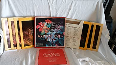 Great Music's Greatest Hits Reader's Digest 8 Records Box Set Bach's Beethoven's Brahms' Chopin's Mozart's Rachmaninoff's Johann Strauss' Tchaikovsky's