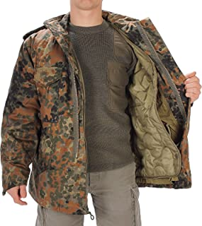 Miltec Men's Flecktarn Camouflage M65 Field Jacket