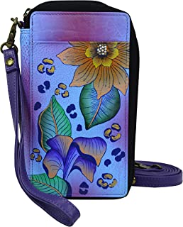 Hand Painted Leather, Tropical safari