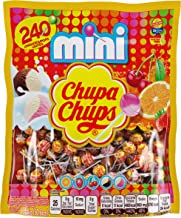 Chupa Chups Mini Lollipops, 240 Bulk Candy Suckers for Kids, Cremosa Ice Cream, 7..