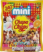 Chupa Chups Mini Lollipops, Halloween Treat, 240 Bulk Candy Suckers for Kids, Cremosa Ice Cream, 7 Assorted Creamy Flavors...