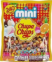 Chupa Chups Mini Lollipops, Suckers for Kids, Halloween Bulk Candy, Party, 240ct Bag