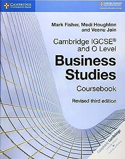 Cambridge Igcse And O Level Business Studies Revised Course Book (Cambridge International Igcse)