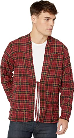Folk Flannel - Red/Yellow