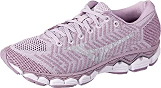 Mizuno Australia Women's Waveknit S1 Running Shoes, Lavender Frost/Cloud/Silver