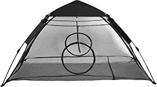 RORAIMA Outdoor use Instant Portable Cat Tent or Habitat with Rain Fly and Two Entrance for Indoor Cats, Air Ventilate Mesh Fabric, Size 75