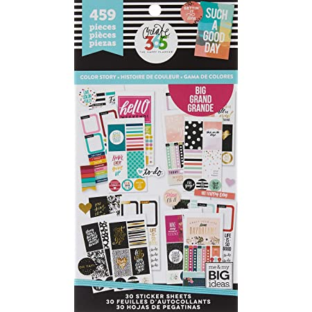 Me /& My Big Ideas Pocket Pages Stickers 6 Sheets//Pkg-Love Yourself