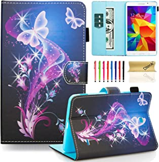 Galaxy Tab 4 7.0 SM-T230 Case, Dteck Slim Lightweigt PU Leather Stand Case with Card Slots Magnetic Closure Protective Cover for Samsung Galaxy Tab 4 7.0