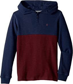 Volcom Kids - Murphy Thermal Hoodie (Big Kids)