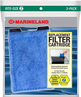 Marineland Eclipse Replacement Filter Cartridges, for Aquarium Filtration