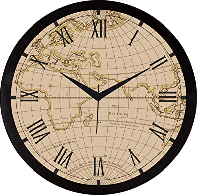RAG28 11.75 Inches Designer Wall Clock for Home/Living Room/Bedroom/Kitchen (9210)