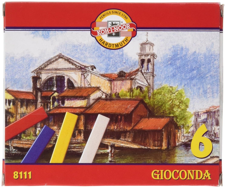 KOH-I-Noor GIOCONDA 8111 Artist's School Hard Pastels (Pack of 6)
