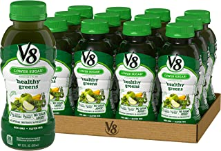 V8 Healthy Greens, 12 Fl Oz (Pack of 12)