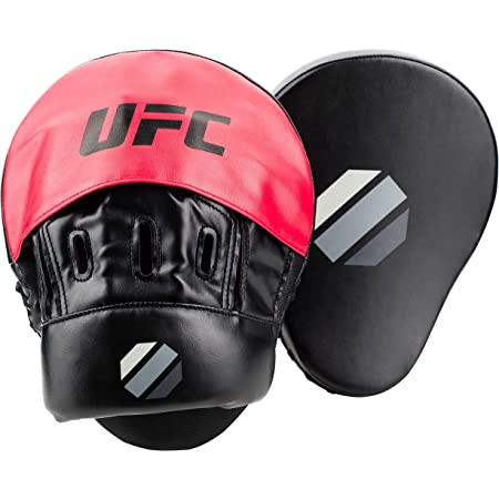 FOCUS PADS MITTS PAD ENDURANCE GEL CURVED KICK PUNCH STRIKE SHIELD UFC BOXING