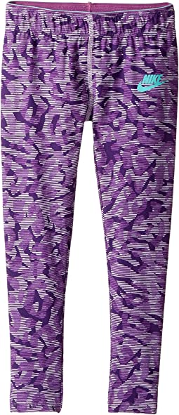 Nike Kids - Sportswear All Over Print ML Tight (Little Kids)