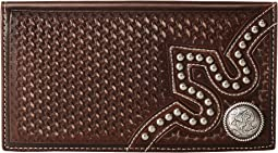 M&F Western - Embossed Tab Rodeo Wallet