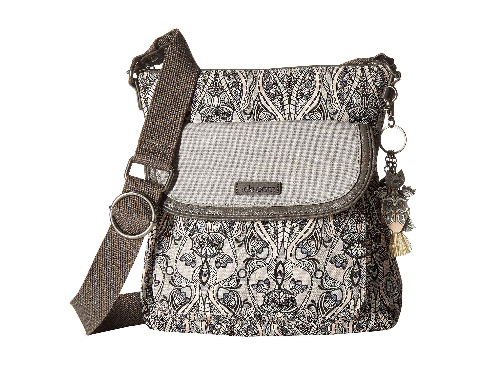 Soulful Flap Desert Circle Crossbody Sakroots Artist Dove BXSEwE
