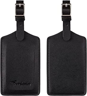 plain luggage tags