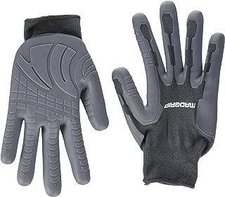 MadGrip Pro Palm Rhino Glove, Grey, Large