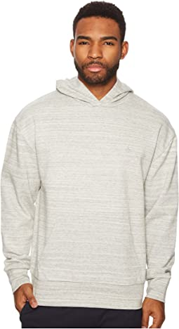 Original Penguin - Long Sleeve Drop Shoulder Popover Hoodie