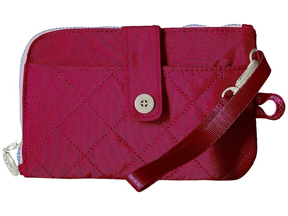 Baggallini RFID Passport Phone Wristlet (Fuchsia/Pink) Wristlet Handbags