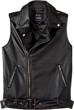 eve jnr - Vegan Leather Vest (Little Kids/Big Kids)