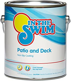 In The Swim Patio and Deck Paint Buff Tan - 1 Gallon