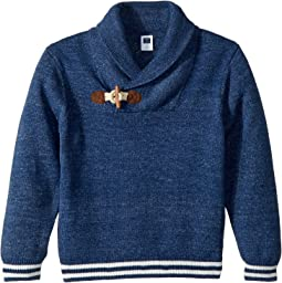 Shawl Collar Pullover (Toddler/Little Kids/Big Kids)