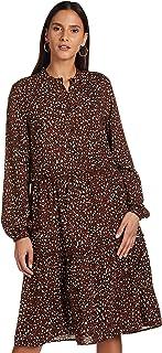 Vero Moda womens HARPER LONG-SLEEVE Dress