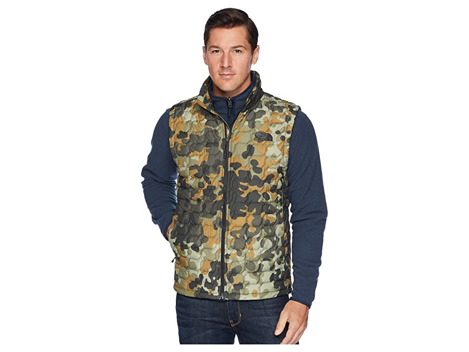 The North Face Thermoball Vest (New Taupe/Green Macrofleck/Camo Print) Men