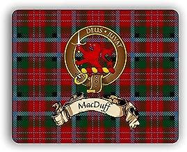 MacDuff Scottish Clan Tartan Crest Computer Mouse Pad