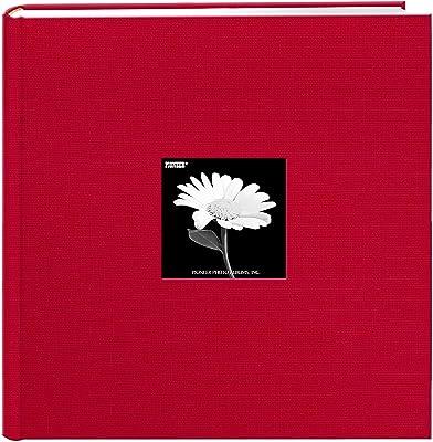Pioneer Photo Albums Extra Large Capacity Photo Album, 500 Pocket 4x6, Red