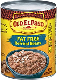 Old El Paso Fat Free Refried Beans 16 oz Can (pack of 12)
